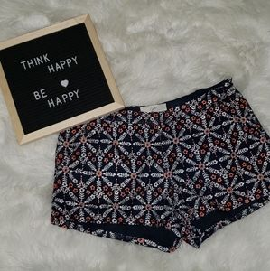 Joie Printed Shorts Floral Size 6